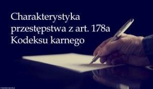 art. 178a kk